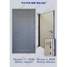 Вхідні двері Конекс Модель 117