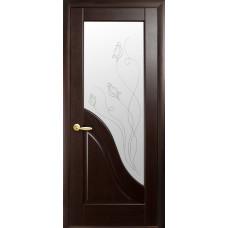 Двери Новый Стиль Амата венге new с рисунком Р2
