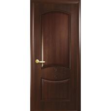 Двери Новый Стиль Донна каштан глухое