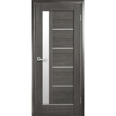 Двери Новый Стиль Грета grey со стеклом