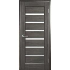 Двери Новый Стиль Линея grey со стеклом
