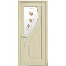 Двери Новый Стиль Прима ясень с рисунком Р1