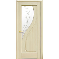 Двери Новый Стиль Прима ясень с рисунком Р2