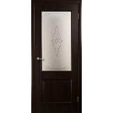 Двери Новый Стиль Вилла венге new с рисунком Р1