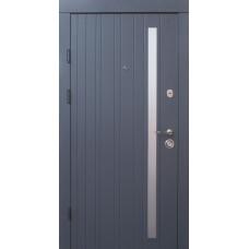 Входные двери Qdoors серия Премиум модель Браш-AL