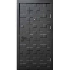 Входные двери Qdoors серия Ультра модель Онтарио Черный