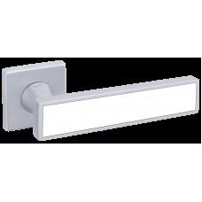 Дверні Ручки D&D  SOCHIC L 02 на квадратній розетці  VIS