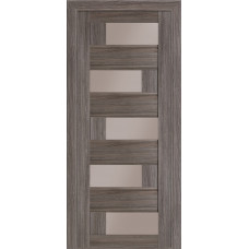 Двери Терминус Модель Рим со стеклом Грей