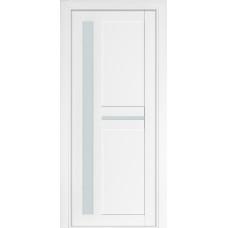 Двери Терминус Модель 106 со стеклом белый матовый