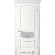 Терминус Модель 50 со стеклом 02 Ясень Белый