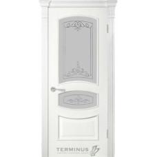 Терминус Модель 50 со стеклом 03 Ясень Белый
