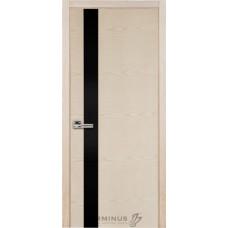 Терминус Модель 21 ясень латте, чорное стекло