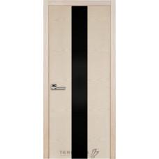 Терминус Модель 23 ясень латте, чорное стекло