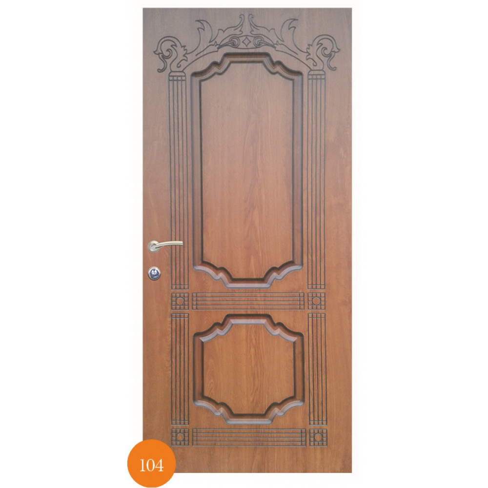 Входные двери Термопласт Мод. 104