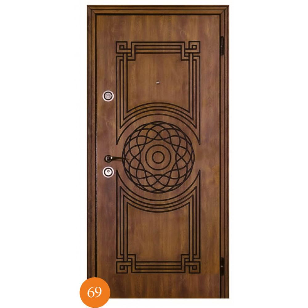 Входные двери Термопласт Мод. 69