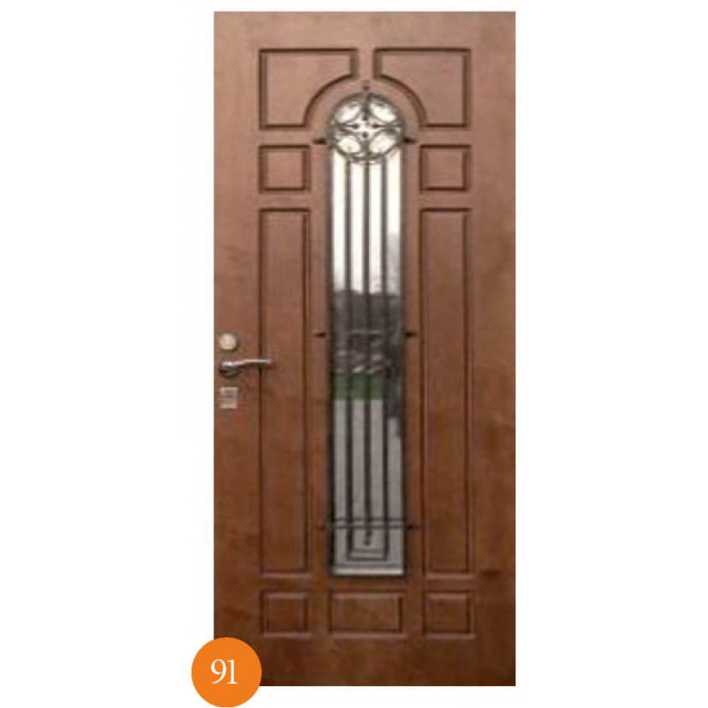 Входные двери Термопласт Мод. 91