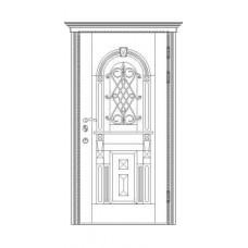 Входные двери Армада, модель D 10.3