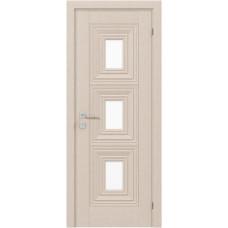 Двери Родос Diamod Модель Berita со стеклом