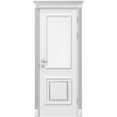 Двери Родос Siena Модель Laura со стеклом