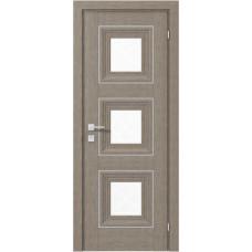 Двери Родос Versal Модель Irida со стеклом