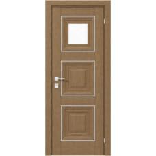 Двери Родос Versal Модель Irida полустекло 1